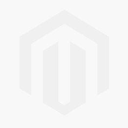 Links Polished Silver with Red Semi-Precious Stone